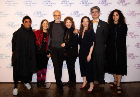 View Recipients of 2019 Herb Alpert Awards Announced