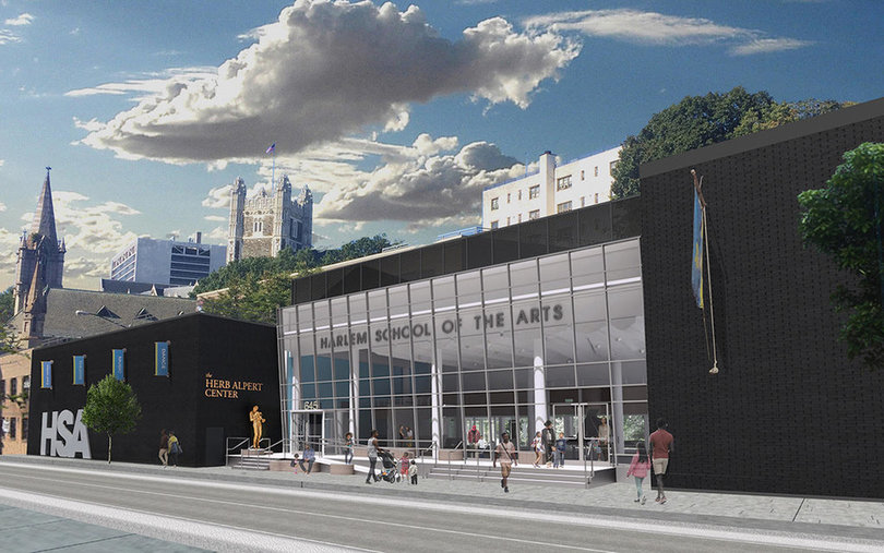 Harlem School of the Arts rendering
